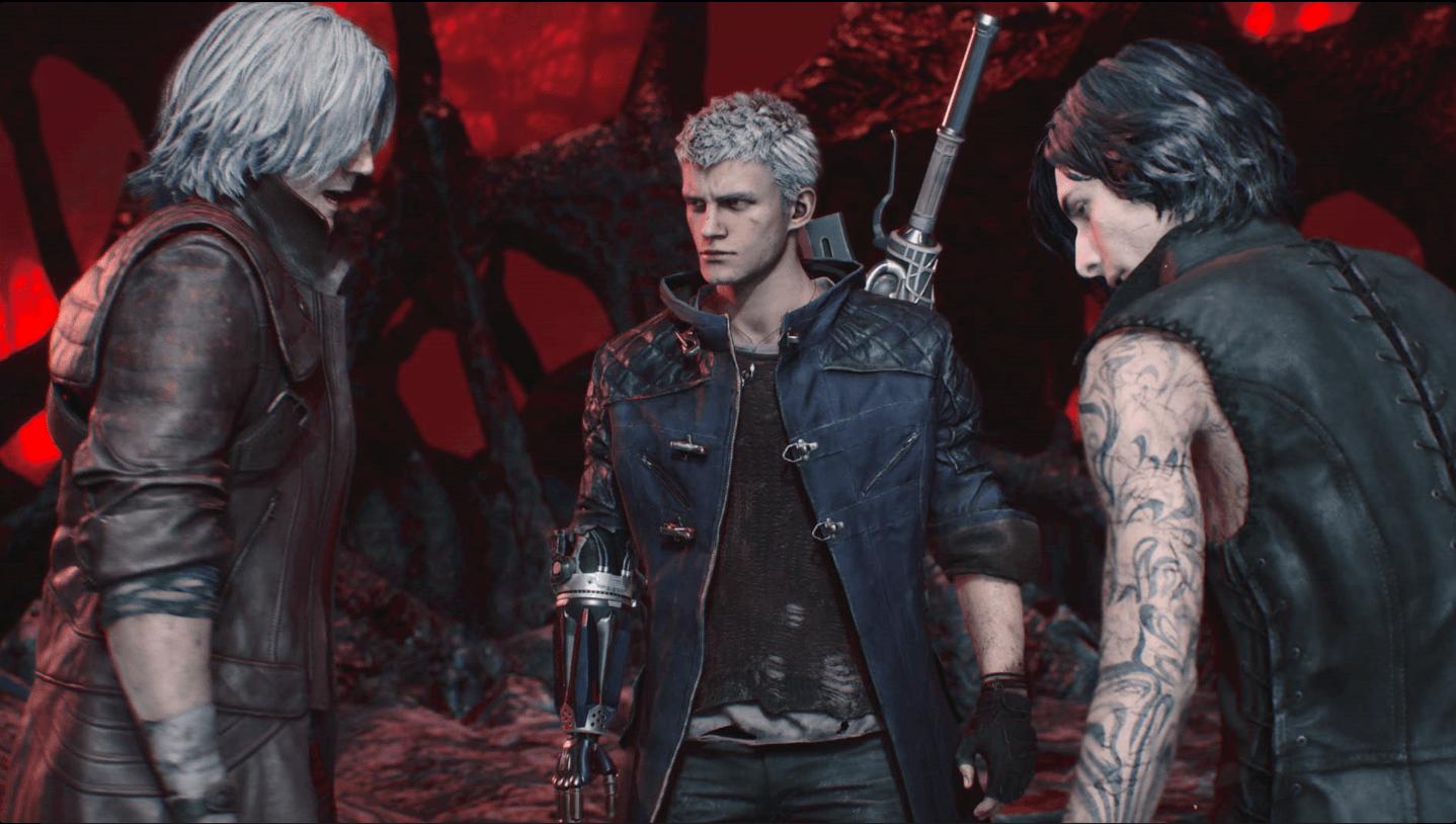 Dante,Nero,V - Devil My Cry 5