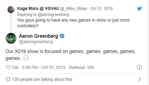 توییت مسئول بازاریابی Xbox Games