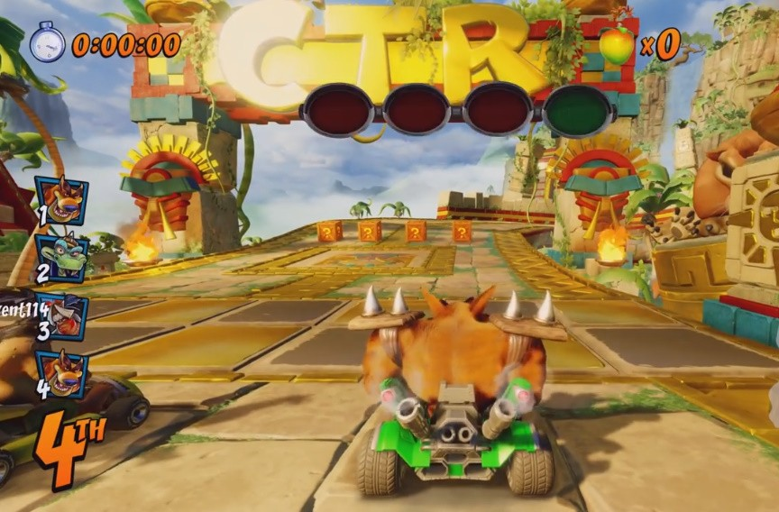 نقد و برسی بازی Crash Team Racing Nitro-Fueled
